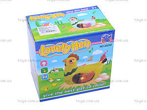 Музыкальная игрушка «Курочка-несушка», 20259, toys