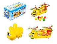 Музыкальная игрушка «Машина-геликоптер» , 3188B, купить