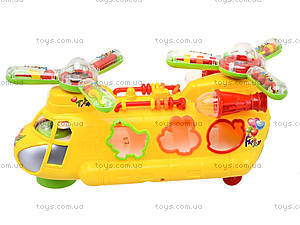 Музыкальная игрушка «Машина-геликоптер» , 3188B, отзывы