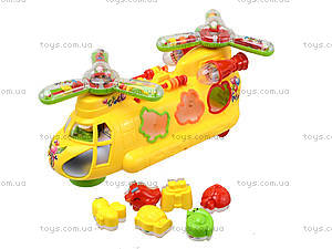 Музыкальная игрушка «Машина-геликоптер» , 3188B, игрушки
