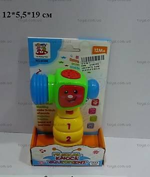 Музыкальная игрушка «Молоток», 8306