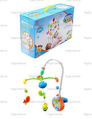 Музыкальная игрушка на кроватку «Карусель», 6538A