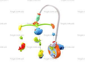 Музыкальная игрушка на кроватку «Карусель», 6538A, игрушки