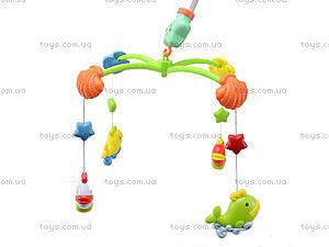 Музыкальная игрушка на кроватку «Карусель», 6538A, детские игрушки
