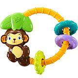 Музыкальная игрушка-погремушка «Обезьянка», 9206, детские игрушки