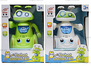 Музыкальная игрушка «Робот-акробат», HD968, детские игрушки