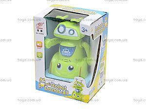 Музыкальная игрушка «Робот-акробат», HD968, toys