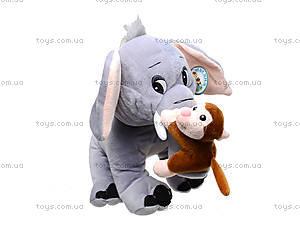 Музыкальная игрушка «Слоник с обезьянкой» , MT2-4254, отзывы