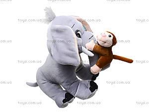 Музыкальная игрушка «Слоник с обезьянкой» , MT2-4254, цена