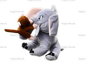 Музыкальная игрушка «Слоник с обезьянкой» , MT2-4254, игрушки