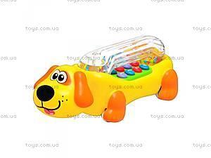 Музыкальная игрушка собачка,