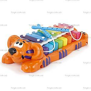 Музыкальная игрушка «Тигренок-ксилофон. Два в одном», 629877MP