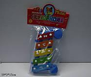 Музыкальная игрушка в форме ксилофона, 32168-1, фото