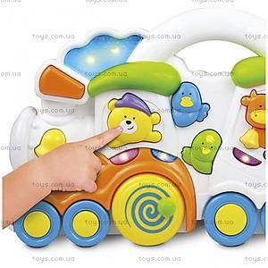 Музыкальная игрушка Weina «Паровозик с животными», 2106, купить