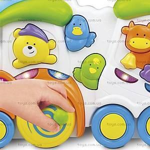 Музыкальная игрушка Weina «Паровозик с животными», 2106, фото