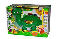 Музыкальная игрушка «Зеленый Динозаврик», 1002, фото