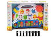 Музыкальное пианино - звери в коробке, 5001, купить