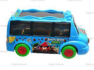 Музыкальный автобус Angry Birds, 58501, купить