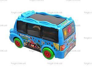 Музыкальный автобус Angry Birds, 58501, цена