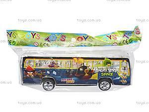 Музыкальный автобус инерционный, 998-35F3