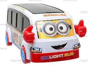Музыкальный автобус «Миньоны», 767-461, купить