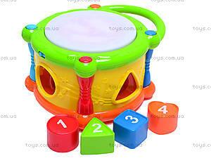 Музыкальный барабан для малышей, MS1000