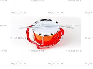 Музыкальный барабан с палочками,