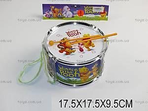 Музыкальный барабан «Винни Пух», 6610-11A