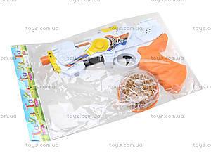 Музыкальный бластер со световым эффектом, 6889-41, детские игрушки