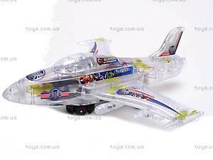 Музыкальный детский игрушечный самолет, SY701, купить