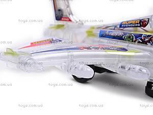 Музыкальный детский игрушечный самолет, SY701, отзывы