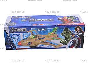 Музыкальный детский игрушечный самолет, SY701, цена