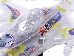 Музыкальный детский игрушечный самолет, SY701, игрушки