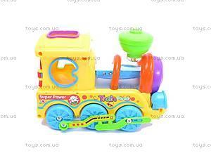 Музыкальный детский паровоз, 0649, фото