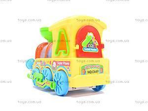 Музыкальный детский паровоз, 0649, цена