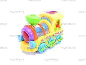 Музыкальный детский паровоз, 0649