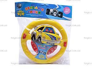 Музыкальный детский руль, 888CD, фото