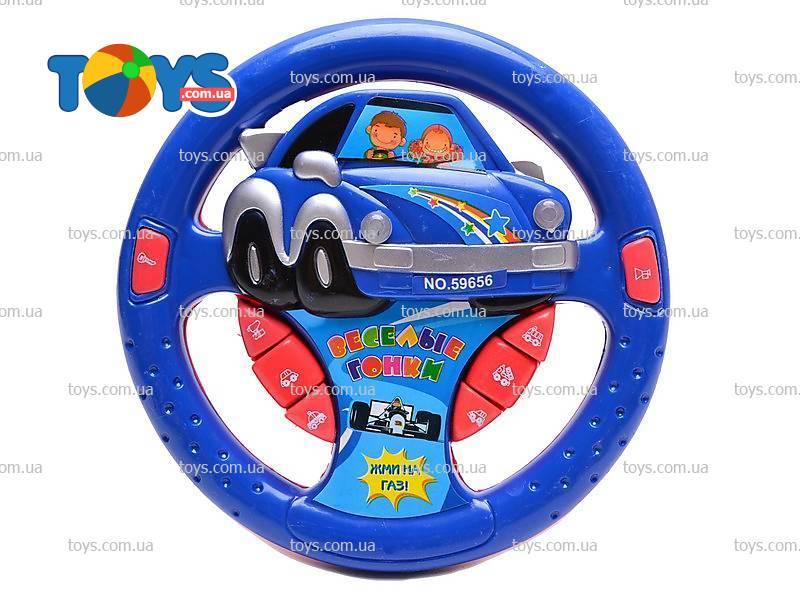 детский руль игрушка музыкальный