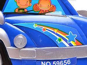 Музыкальный детский руль, 888CD, игрушки