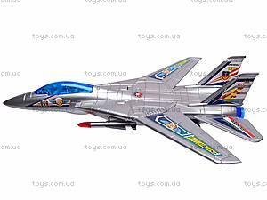 Музыкальный детский самолетик, игрушечный, 866-2, купить