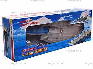 Музыкальный детский самолетик, игрушечный, 866-2, фото