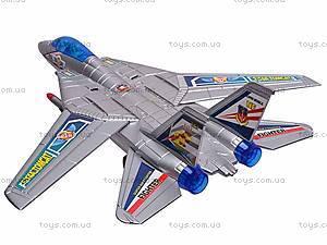 Музыкальный детский самолетик, игрушечный, 866-2, отзывы