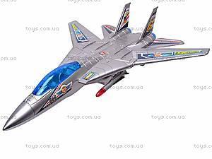 Музыкальный детский самолетик, игрушечный, 866-2
