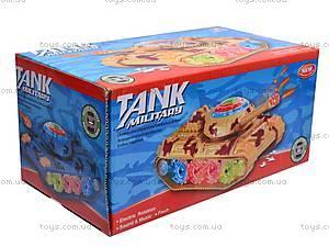 Музыкальный детский танк, GD2021, детские игрушки