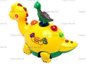 Музыкальный динозавр для детей, 1002, купить