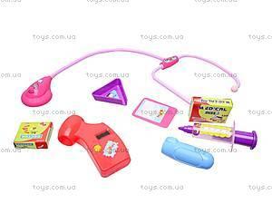 Музыкальный докторский набор, 048-14, детские игрушки