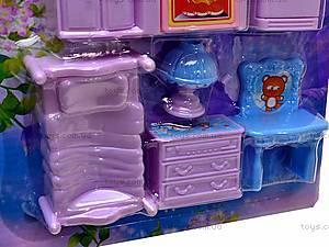 Музыкальный дом с мебелью, 8061, toys