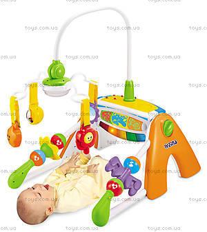 Музыкальный игровой центр Weina 4 в 1 «Галактика», 2076, детские игрушки