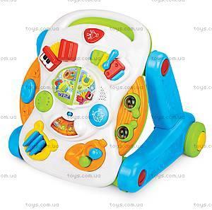 Музыкальный игровой столик Weina 2-в-1, 2137, купить