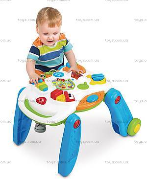 Музыкальный игровой столик Weina 2-в-1, 2137, фото